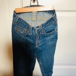 True Religion Billy Low Rise Jeans Size 27